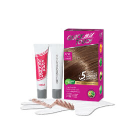 Quick Touch 5 Minutes Hair Color 630 Hazelnut Latte [For Grey Hair Coverage Only] Hair Colour Hair Dye 2020