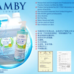 Amby London Non Alcohol Sanitizer 270ml