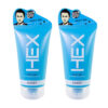 [Bundle of 2] Amby Hex Spiky Gel (Blue) 150g Hair Gel Men 2020